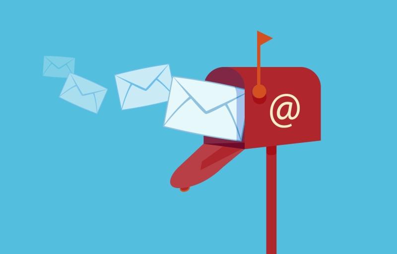 nevyžádaný e-mail se spamem ze seznamovacích webů